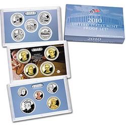 US Mint 2010 Proof Set