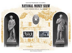 American Numismatic Association National Money Show Intaglio Print Card