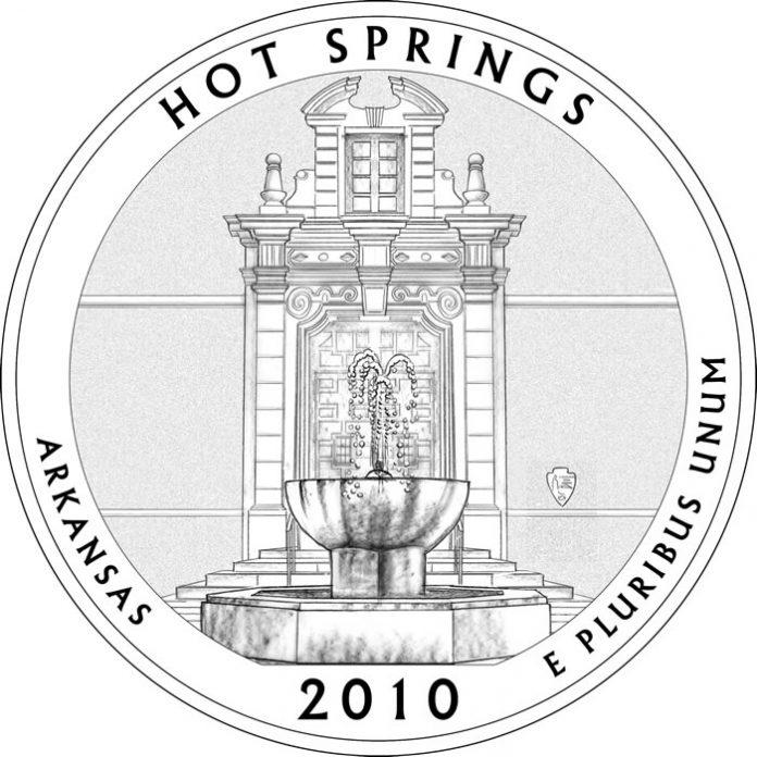 Hot Springs National Park Quarter Design