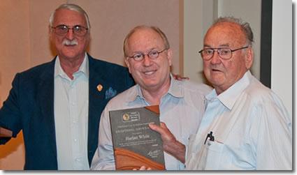 Jim Hill, Barry Stuppler and Harlan White