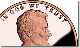 Lincoln Cent - In God We Trust