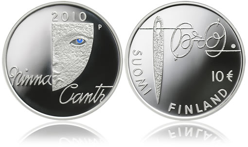 Mint of Finland Minna Canth and Equality Silver Coin