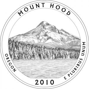 Mt. Hood National Park Quarter Design