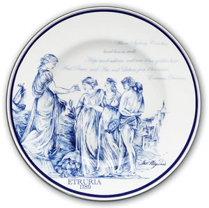 Wedgwood Fine Bone China Plate