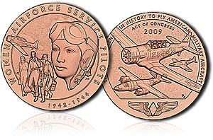 Women Airforce Service Pilots Bronze Medal