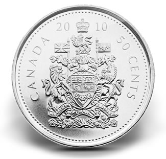 2010 50 CENT CIRCULATION COIN