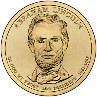 2010 Abraham Lincoln $1 Uncirculated Coin