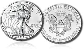 2010 American Silver Eagle Bullion Coin