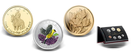 Royal Canadian Mint's 2010 Spring Collection