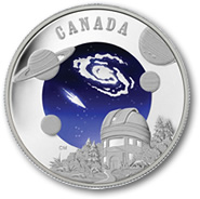 2009 International Year of Astronomy $30 Canadian Silver Coin