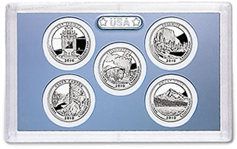 America the Beautiful Quarters Proof Set