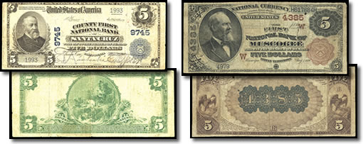 Currency Notes for Auction