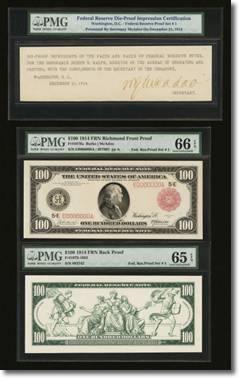 Presentation Set of Federal Reserve Proofs