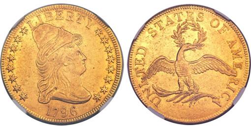 1796 $10 Gold Eagle