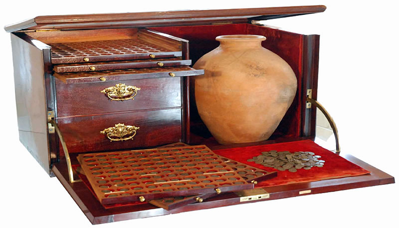 Bishop's Wood Hoard of Roman Coins Realize £46,964 in Baldwin