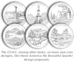 Coin Designs Reviewed by CCAC