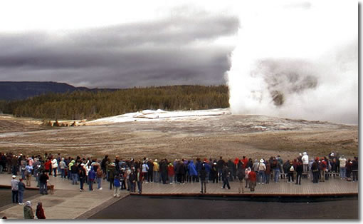Old Faithful Geyser