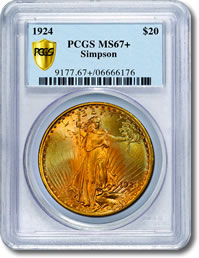 PCGS Secure Plus Certified Coin