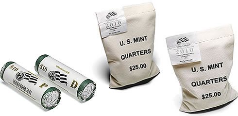 Yellowstone National Park Quarter Bags and Rolls