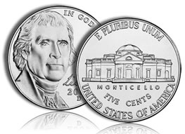 2010 Jefferson Nickel