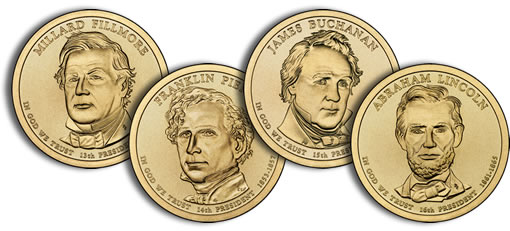 2010 Presidential $1 Dollar Coins