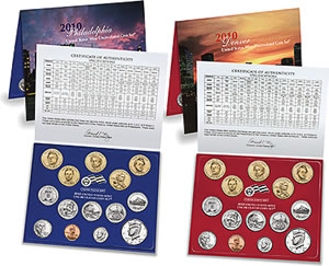 2010 United States Mint Uncirculated Set