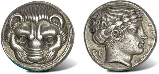 Ancient Tetradrachm Coin