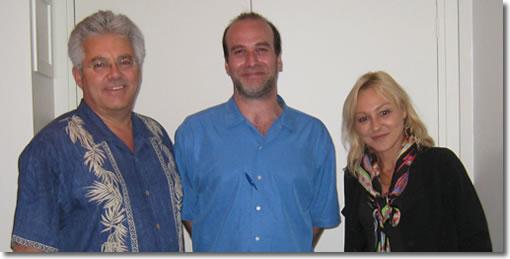 Don Willis, Ingram Liberman, Muriel Eymery