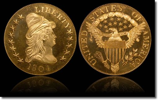 Proof 1804 Gold Eagle Coin
