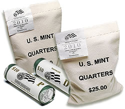 Yosemite National Park Quarter Bags and Rolls