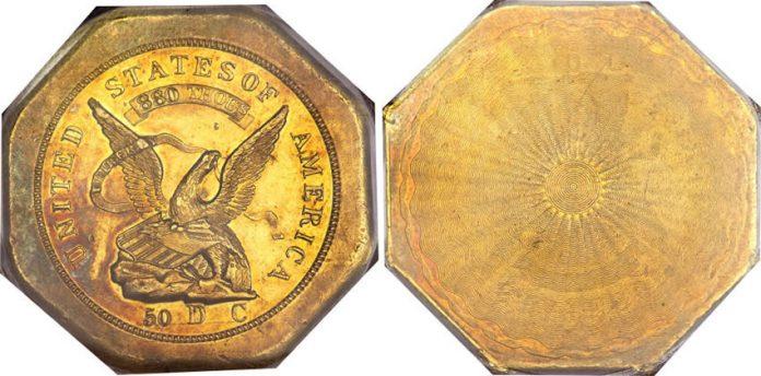 1851 $50 LE Humbert Fifty Dollar