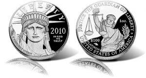 2010 Proof Platinum American Eagle