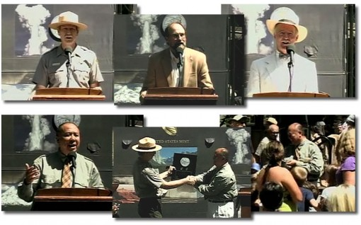 2010 Yosemite National Park Quarter Ceremony