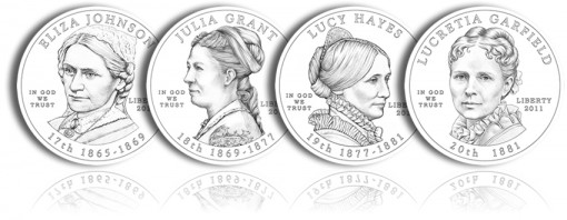 2011 First Spouse Gold Coin Obverse Designs Recommended by CFA