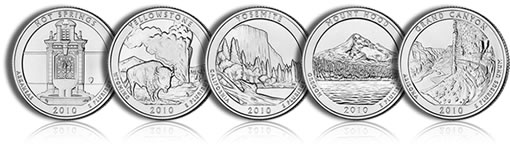 America the Beautiful Silver Bullion Coins