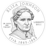 Eliza Johnson Design Obverse Candidate Five
