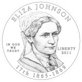 Eliza Johnson  Obverse Design Candidate One