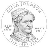 Eliza Johnson Obverse Design Candidate Three