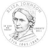 Eliza Johnson Obverse Design Candidate Two