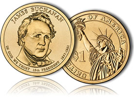 James Buchanan Presidential Dollar