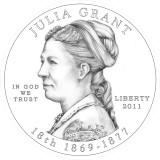 Julia Grant Obverse Design Candidate One