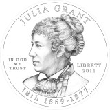 Julia Grant Obverse Design Candidate Three