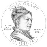 Julia Grant Obverse Design Candidate Two
