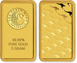 Kangaroo Minted Gold Bar