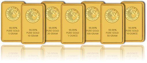 Kangaroo Minted Gold Bars