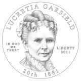 Lucretia Garfield Obverse Design Candidate One