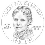 Lucretia Garfield Obverse Design Candidate Two