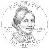 Lucy Hayes Obverse Design Candidate One