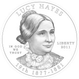 Lucy Hayes Obverse Design Candidate Three