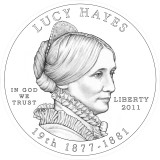 Lucy Hayes Obverse Design Candidate Two